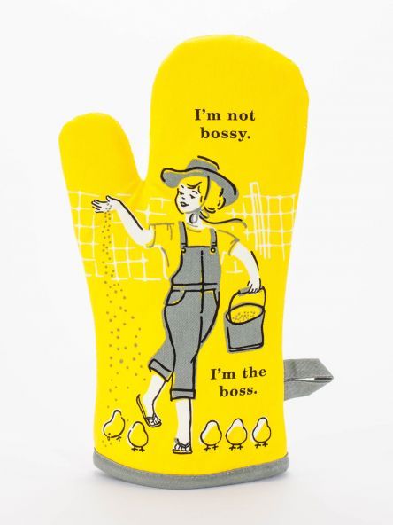 Cover Image For Oven Mitt I'm not bossy