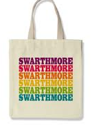 Image For Tote Bag with Rainbow Swarthmore