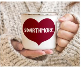 Cover Image For Camp Fire Mug with Swarthmore Heart