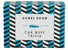 Image For Ridley's Games Room Car Buff Trivia