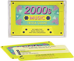 Image For Ridley's 2000s Trivia Cassette Tape Quiz