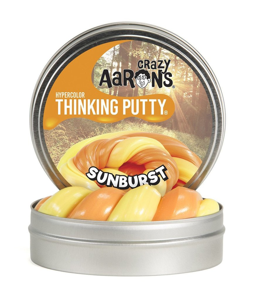 Image For Crazy Aarons Hypercolors Sunburst Thinking Putty