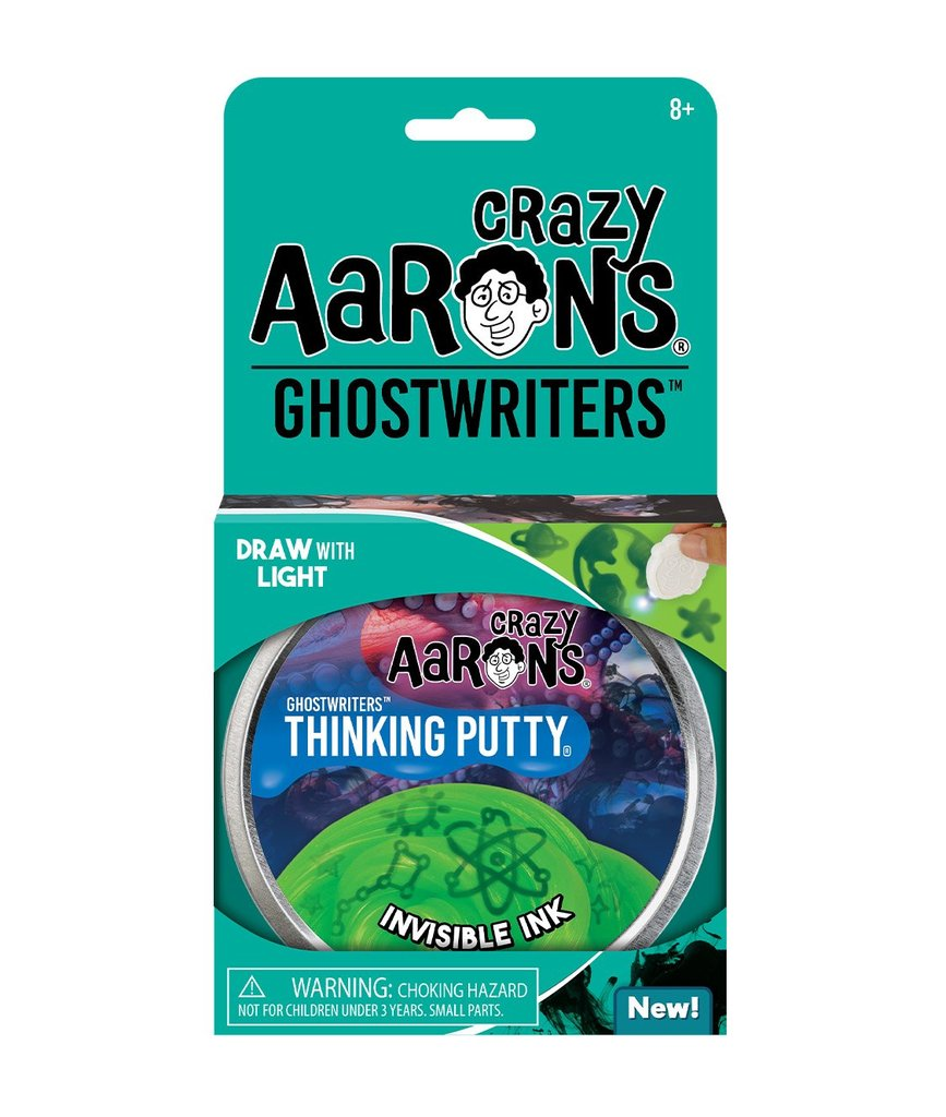 Image For Crazy Aarons Ghostwriters Invisible Ink Putty
