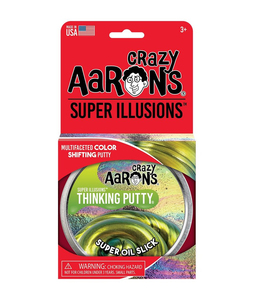 Cover Image For Crazy Aarons Color Shifting Super Oil Slick Thinking Putty