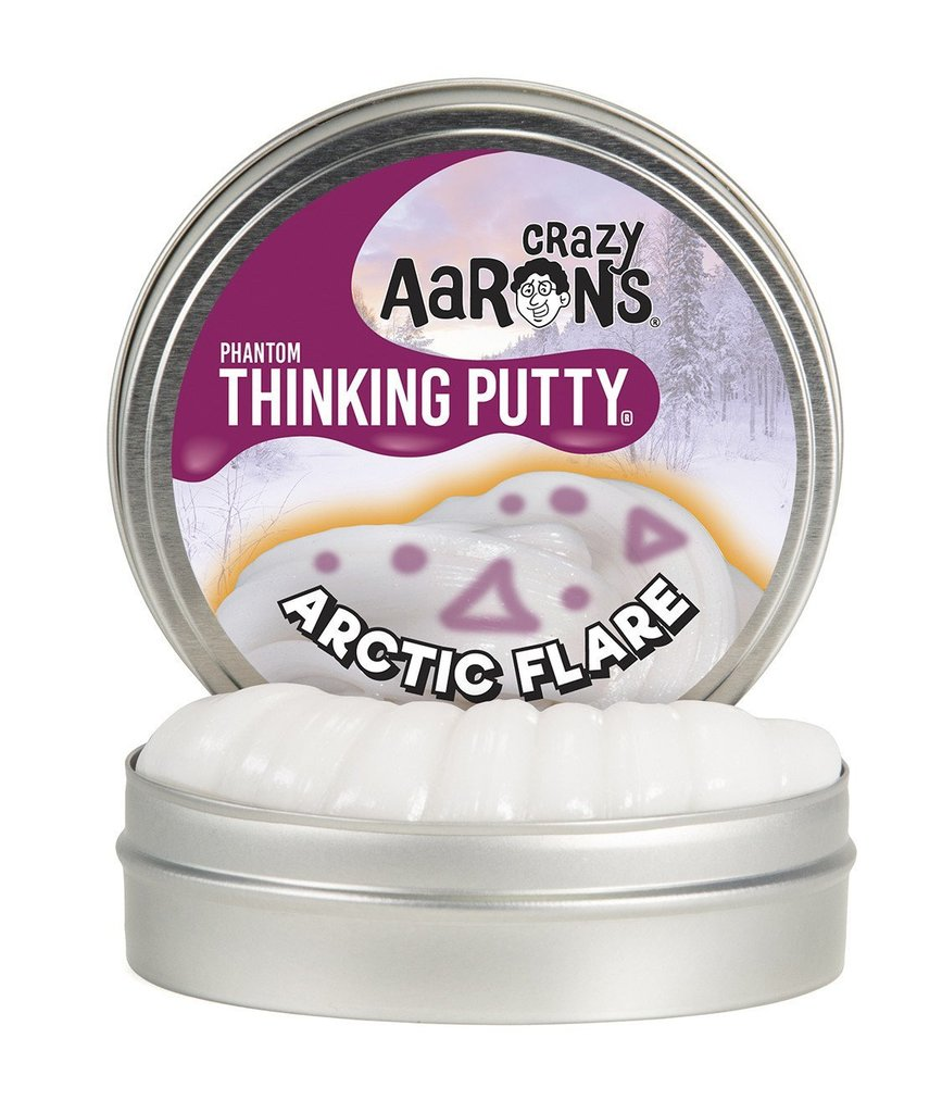 Image For Crazy Aarons UV Reactive Arctic Flare Thinking Putty