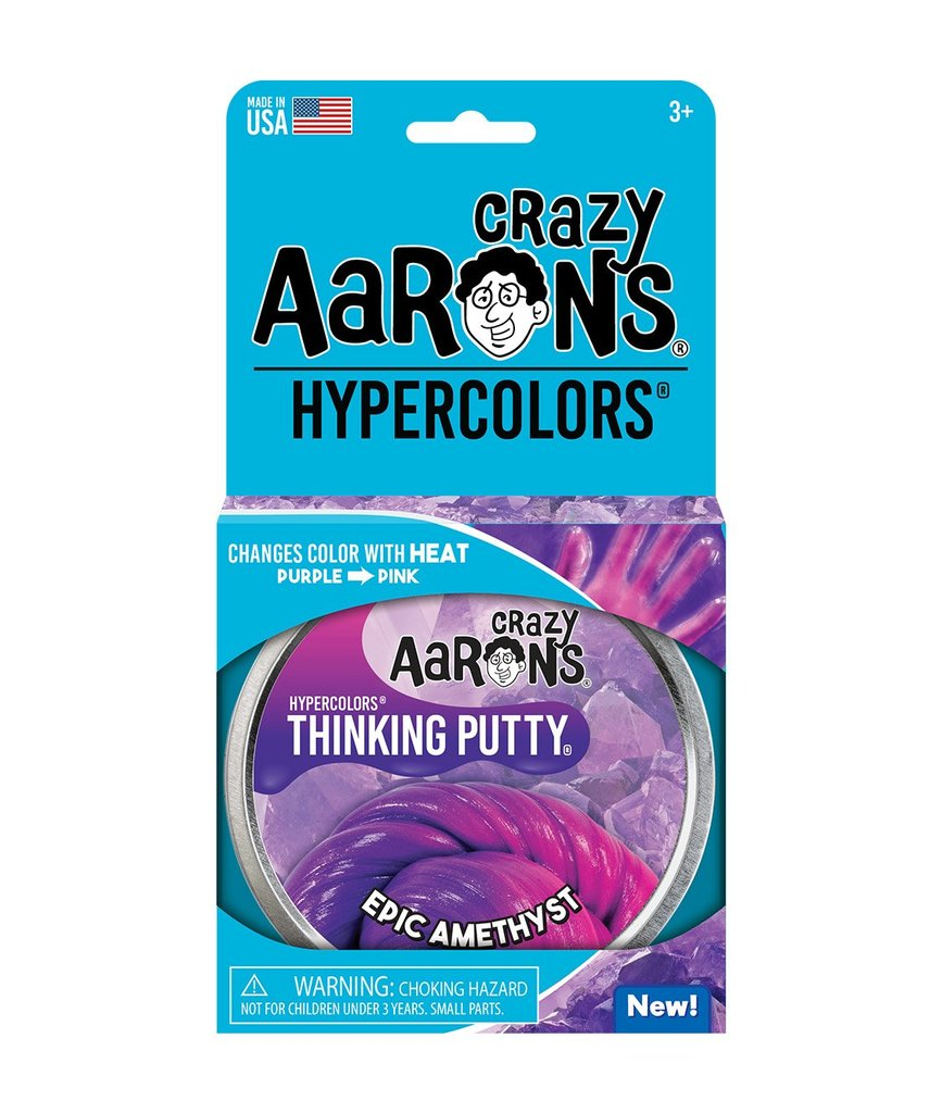 Image For Crazy Aarons Hypercolors Epic Amethyst Thinking Putty