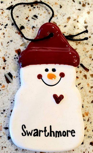 Image For Snowman with Heart Ornament