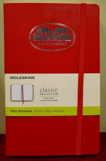 Image For Moleskine notebook, plain, garnet