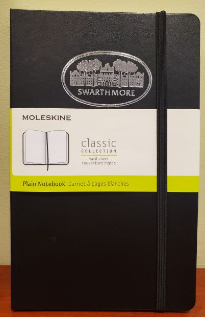 Image For Moleskine notebook, plain, black