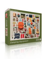 Image For Puzzle Camping Equipment