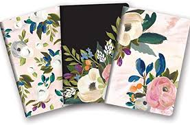 Image For Notebook Bella Flora 3 pk