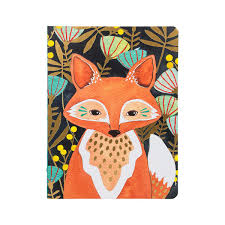 Image For Journal Woodland Fox Lay flat