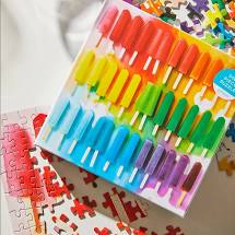 Image For Rainbow Popsicle Puzzle 500 pcs